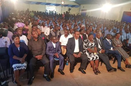 Hype at Lugulu AC as First Lady H.E Ojaamong' Joins Them in Kubamba Service
