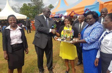 Hon. Judy Ojaamong Preaches Education at St. Stephens Lwanya Girls