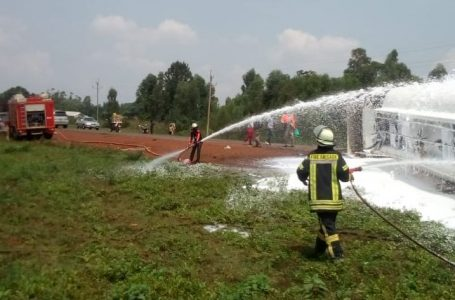 County disaster response team averts the fuel tanker crisis at Bumala