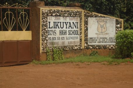 Robbers broke into St. John the Baptist Likuyani Boys High school in Likuyani Sub County, Kakamega County
