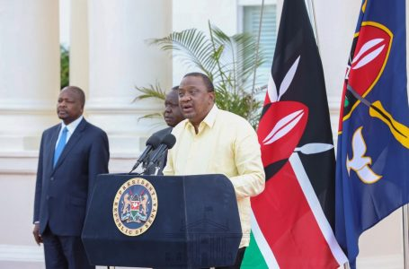 Hisia mseto zimeibuka baada ya Rais Kenyatta kutoa ujumbe wake kwa mwenzake wa Uganda Rais Museveni kwenye mtandao