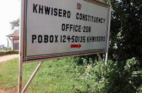 Wazee katika eneo la Khwisero kuleta Amani miongoni mwa wanasiasi katika eneo hilo ili kuwepo na maendeleo