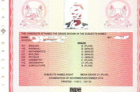Kenya National Qualificationa Authority Kuanzisha mpango wa kupiga marufuku vyeti gushi