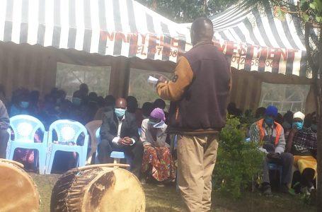 Wakaazi wa wadi ya Shirungu-Mugai kaunti ya Kakamega wahimizwa kutilia maanani masharti ya Corona