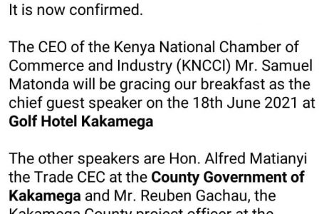 Come meet who is who in the county private sector