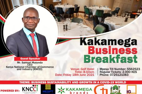 Business News_KNCCI_Kakamega Chapter